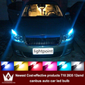 Night Lord 4xLED CANBUS Samsung T10 2835 Chip 12SMD Clearance Light For skoda octavia a5 2 rs fabia rapid accessories