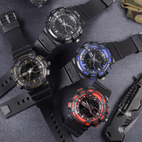 Men's Watch Sports Watch Outdoor Sports Waterproof, Shock proof, Drop proof and Frost proof Multifunctional Electronic Watch