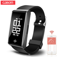 GASON Sport Smart Bracelet Watch Band Heart Blood Pressure Monitor Fitness Calorie Wristband waterproof Sleep Tracker Pedometer
