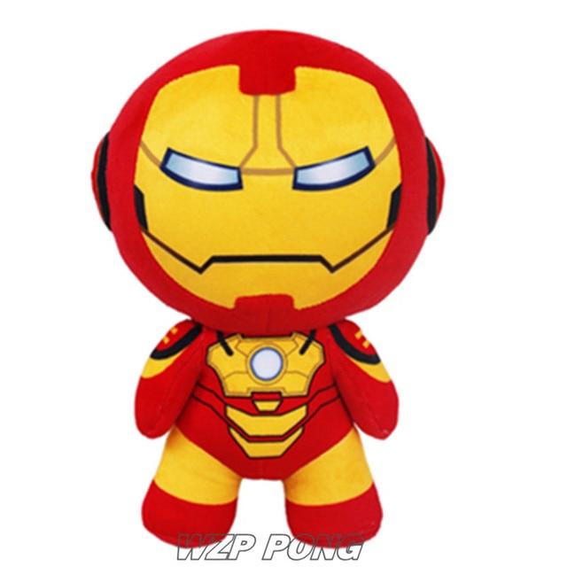30 cm de Super-heróis Vingadores Homem De Ferro IronMan Alta Bonecas de Brinquedo De Pelúcia Recheado de Brinquedos de Pelúcia Bonito presente de Aniversário Qualidade Caçoa o Presente de Natal