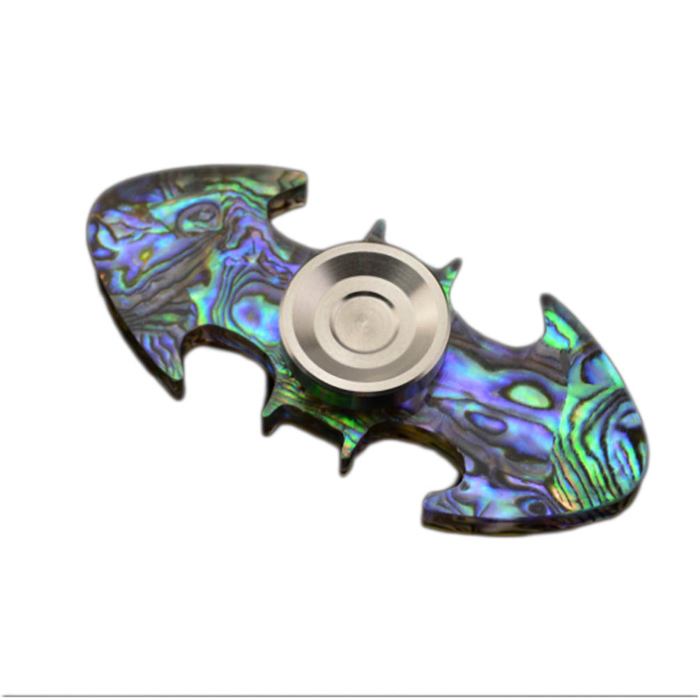 New Hand Spinner Injection Molded Bat Style Shaped Figit Fidget Spinner Anti-stress EDC ADHD Toys Super Light Shell Material