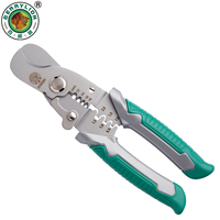 BERRYLION 3 In 1 Multifuntional Wire Stripper Cable Cutting Crimping Pliers Multitul Tool For Terminal Electrician