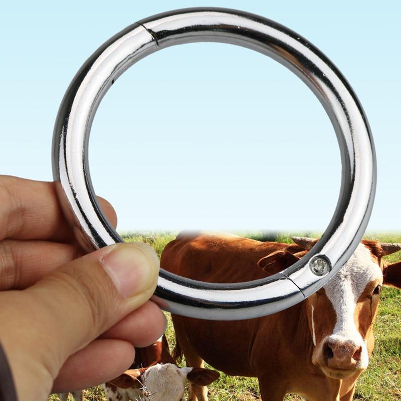 Envío gratis gran número de anillo de nariz de buey anillo de la - Productos animales