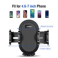 Ugreen Car Phone Holder No Magnetic Gravity Stand in the Car Suction Cup Support Holder for Your Mobile Phone 5
