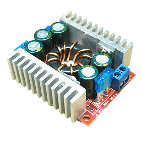DC/DC 15A Buck Adjustable 4-32V 12V to 1.2-32V 5V Converter Step Down Module