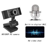 camera computer A6 Computer Webcam Widescreen Video Calling Recording 1080P Camera With Microphone Free Drive For Video Chat Video Conferencing (4)