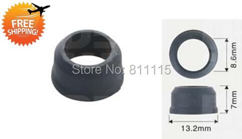 Fuel Injector Gasket Top Cap 13 2x7mm 500pcs free shipping O Rings Repair Kits Plastic Gasket