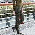 2017 Primavera QUENTE! free army verde novo exército calças para mulheres magras calças lápis causal exército tático gk-965 das mulheres calças de verão
