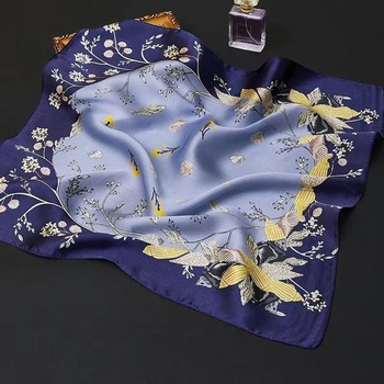 gorgeous SQUARE 100% Real Mulberry SILK SCARF Silk Satin Neckerchiefs factory sale MIXED 20 pcs/lot #4101