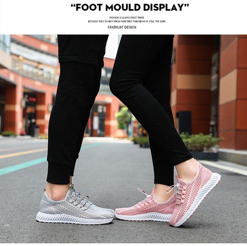 2019 Hollowing out Mesh Women Fashion Sneakers Men Sport Casual Shoes Flat Flying Knitting Women Trainers Men's Shoes XU025 (1 (10)