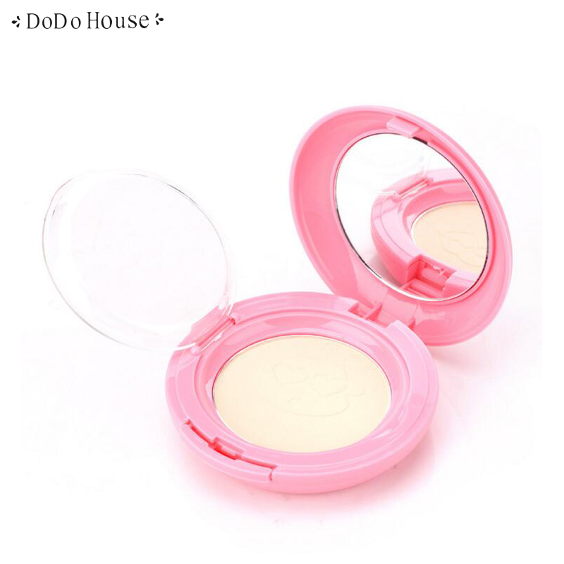 Wet and Dry Use Powder Natural Foundation Skin Finish Pressed Powder Oil-control Concealer Brighten Setting Face Cream-to-Powder stylish peach shape multifunction dual use dry and wet powder puff brush