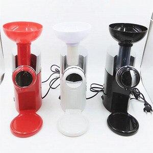 Image 4 - 220V 고품질 자동 과일 디저트 기계 전기 아이스크림 밀크 쉐이크 메이커 EU/AU/UK/US