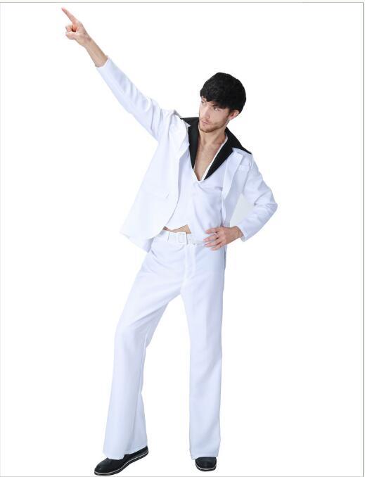 US $17 0 |Men's Elvis Rock Star Rock N Roll 60s 70s Music Fancy Dress Stag  Night Costume Disco Stage fancy dress-in Movie & TV costumes from Novelty &