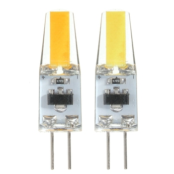 цена на 10 unids Mini G4 LED COB LED Bulb 2W Pure White/Warm White Corn Light Spotlight G4 Lamps light 150-180LM DC12V Chandelier Light