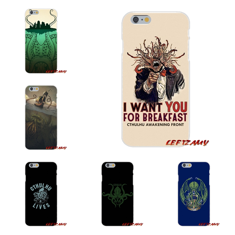 For Huawei P Smart Mate Y6 Pro P8 P9 P10 Nova P20 Lite Pro Mini 2017 Accessories Phone Shell Covers Sleeve Loves Cthulhu