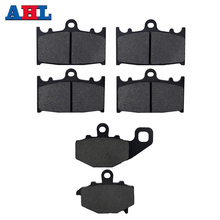 SYUU Motorcycle Replacement Front Rear Brake Pads Brakes for Kawasaki ZX12R ZX 12 R ZX 12R ZX 1200 B3 B4 B6F 2004 2005 2006 FA369F FA161R