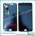 Для Meizu M3 Meilan Note 3 Note3 M681H L681H ЖК-экран с сенсорным экраном дигитайзер сборочных полных комплектов, лучшее качество