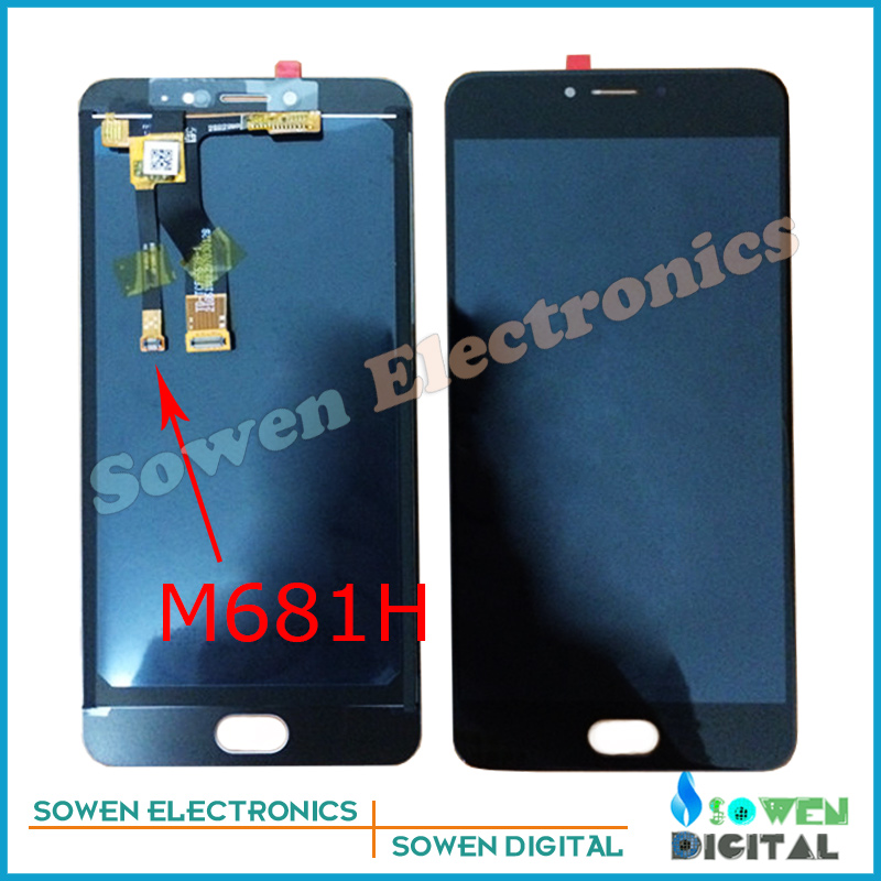 for Meizu M3 Meilan Note 3 Note3 M681H L681H LCD display screen with touch screen digitizer assembly full sets ,Best quality