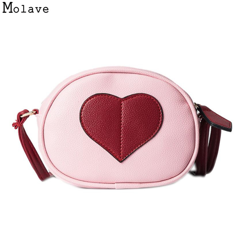 AA Naivety Women Messenger Mini Bag Heart-Shaped Round Shoulder Bags PU Leather Crossbody Round Handbag 28S7914 drop shipping cylinder shaped mini crossbody bag