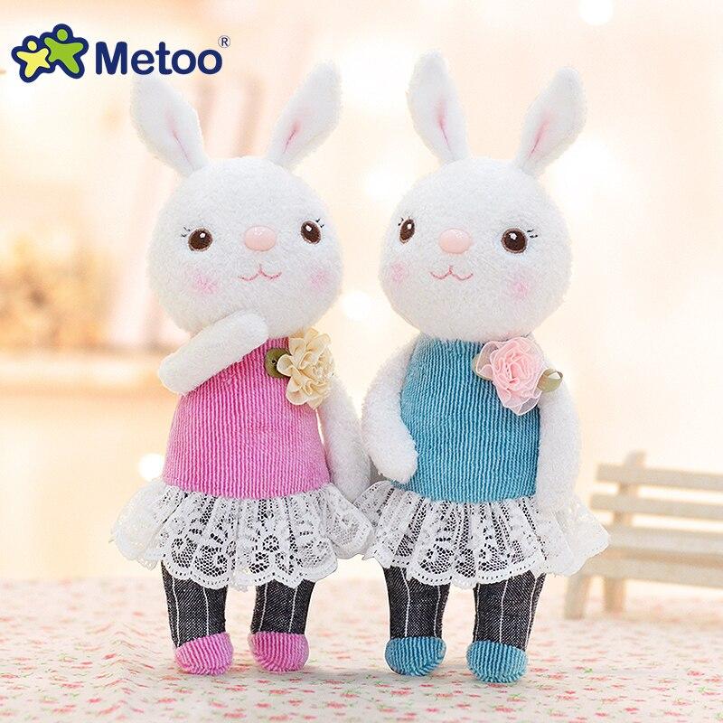 New Design Plush Metoo Tiramitu Cute Bunny Doll Cartoon Lace Pink Toys with Skirt Stuffed Tiramisu Rabbit Doll Collection 9