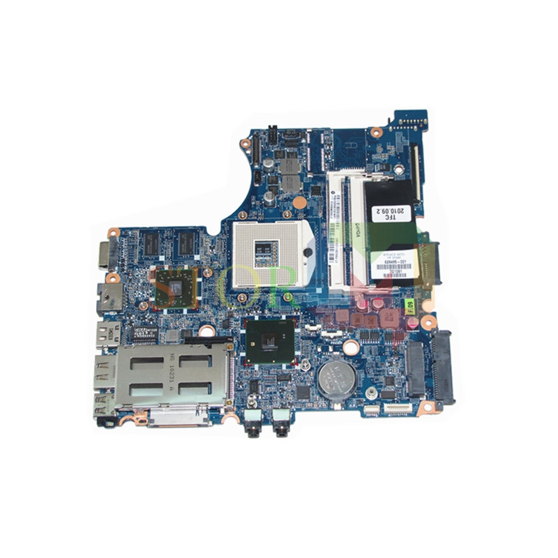 NOKOTION for hp probook 4320S laptop motherboard 628485-001 HM57 HD 5470 DDR3 nokotion sps v000198120 for toshiba satellite a500 a505 motherboard intel gm45 ddr2 6050a2323101 mb a01