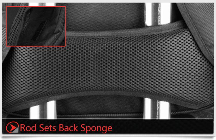 17 rod sets back sponge