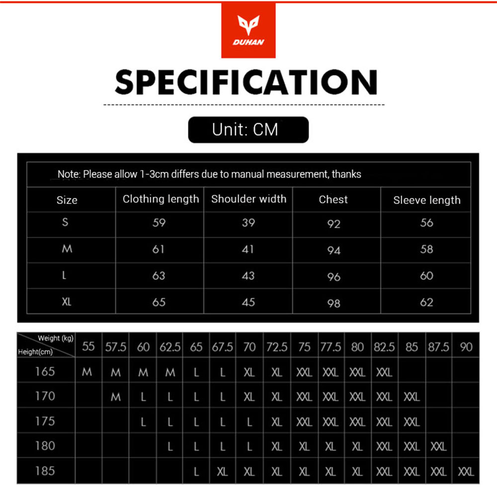 Image 5 - DUHAN Women Motorcycle Jacket Summer Breathable Mesh Moto Jacket Protective Gear Motorcycle Suit Motorbike Clothing Set Black-in Jackets from Automobiles & Motorcycles
