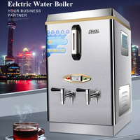 Electric Water Boiler Automatic Water Heater Commercial Office School Railway Station Beverage Shop Water Boiler 60L
