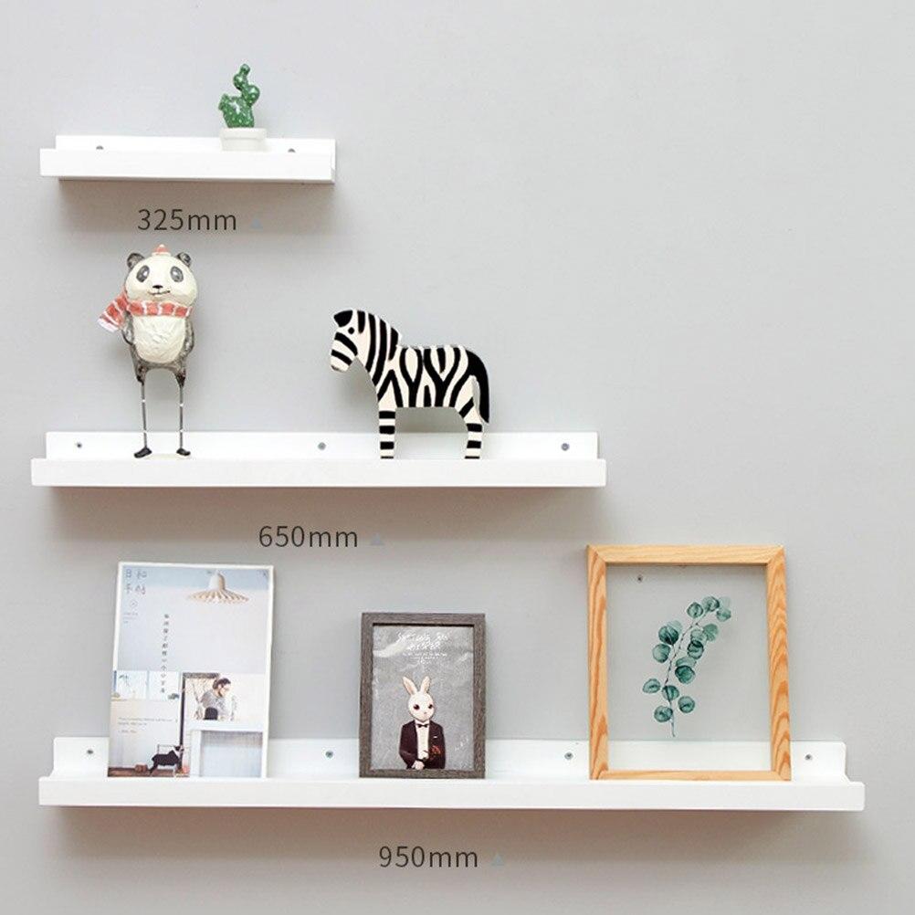 US $15.26 47% OFF|1pc Bamboo Wall Shelf Floating Ledge Storage Wall Hanging  Decoration Frame Bedroom Wall Creative Solid Wood Shelf-in Bathroom ...