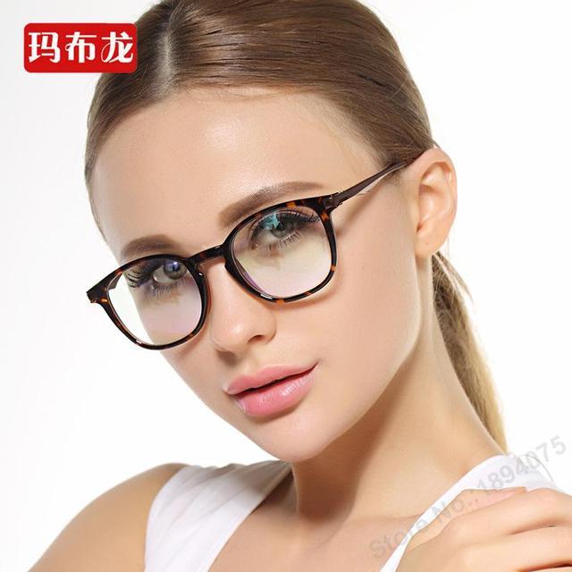 Free prescrption filling shortsighted eyeglasses women frame myopia spectacles closesighted optical eyewear E013
