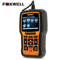 FOXWELL NT510 Full System OBD2 Automotive Scanner ABS SRS Airbag SAS EPB Oil Service Reset For Fiat Ford Mazda Volvo BMW