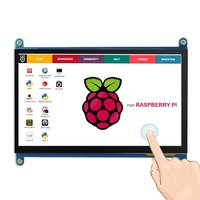 7 inch Raspberry Pi 3 Model B+ LCD Display Touch Screen LCD 800*480 HDMI TFT Monitor