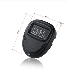 Image 3 - Geyiren HUD Gps A1 Head Up Display Car HUD Speedometer Projector Speed Alarm Display Kilometers Windshield Projector HUD Car GPS