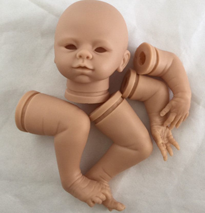 Reborn Doll Kits for 18inches Soft Vinyl Reborn Baby Dolls Accessories for DIY Realistic Toys for DIY Reborn Dolls Kits dk-84 good price reborn baby doll kits for 17 baby doll made by soft vinyl real touch 3 4 limbs unpainted blank doll diy reborn doll