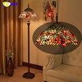 Фумат Европейский Тиффани витражные напольные лампы Декор для дома Бабочка Тени напольные светильники Подставка для гостиной LED торшер