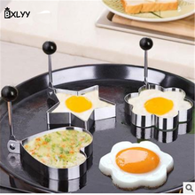 BXLYY Multi-style Stainless Steel Breakfast Omelette Mold Unicorn Party Kitchen Tools Cake Decoration Toolskitchen Accessories7z