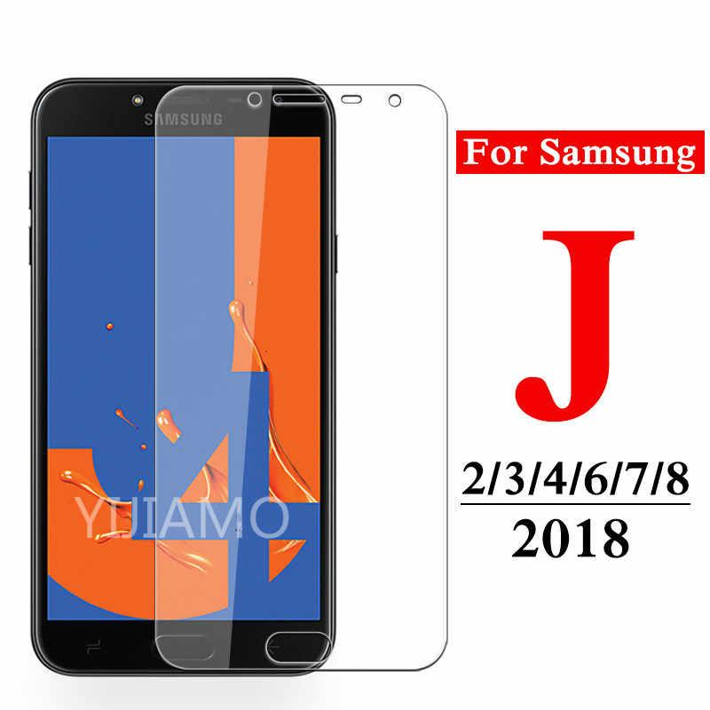 9H زجاج واقي ل samsung galaxy j6 j4 j8 j7 j3 j2 برو 2018 الزجاج المقسى ل samsung j 2 3 4 6 7 8 واقي للشاشة فيلم