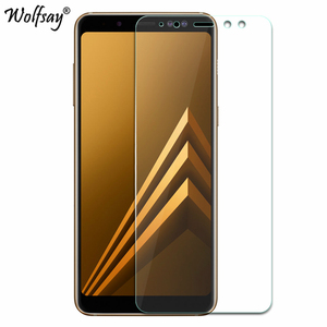 Image 3 - 2pcs For Tempered Glass Samsung Galaxy A8 2018 Screen Protector Anti Explosion Thin Film For Samsung Galaxy A8 2018 Glass A530