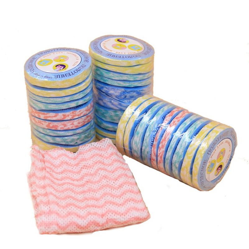 10 Pcs Disposable Travel Bathing Hand Towel Non Woven Compressed Bath Face Towels Bathing Paper