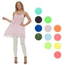 LAAMEI Women Summer Beach Dresses Chiffon Voile Female Dress Fluorescence  Lady Sundress Plus Size 5XL Women 8826efafcbf0