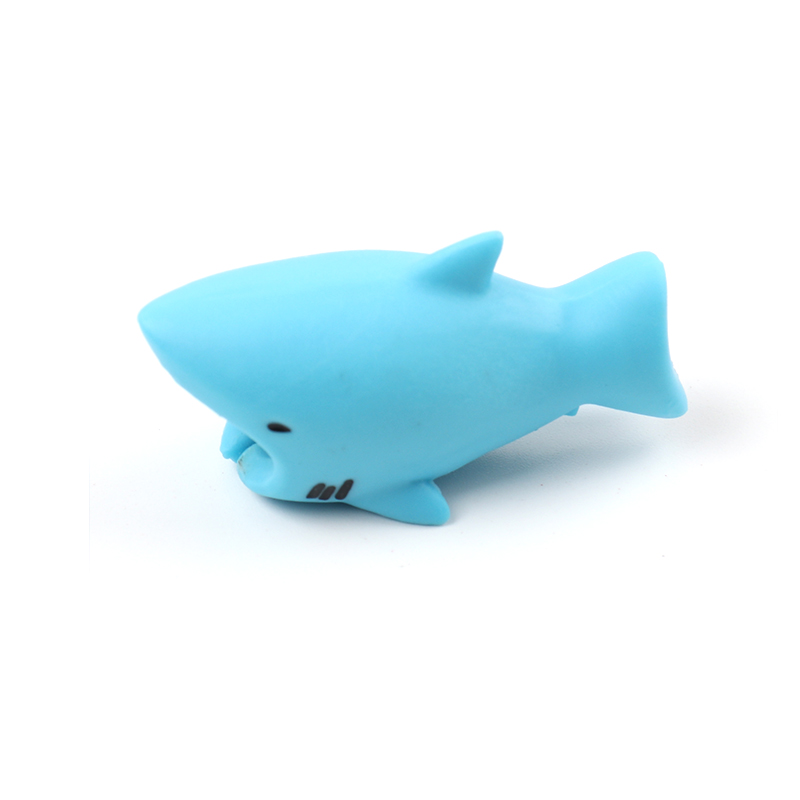 Cute USB cable organizer chompers for iphone kabel animal protector cable bite management cord wire saver chomper shark duck dog