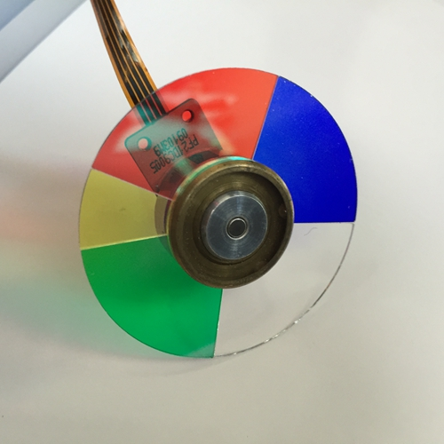 ФОТО 100% NEW projector color wheel for Optoma ES513 ES531 EP747T