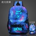 One Piece Backpack Japan Anime Printing School Bag for Teenagers Cartoon Travel Bag Nylon Mochila Galaxia CTT193