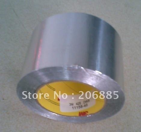 3 м 425 Алюминий Фольга один sidedtape/термопроводящая лента/огнестойкая лента/светильник светоотрающей полосой