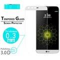 """Премиум твердость Anti-Shatter Защитная пленка 3D полная Изогнутые пленка для LG G5 5.3 """"полное покрытие экрана Закаленное Стекло Фильмы"""