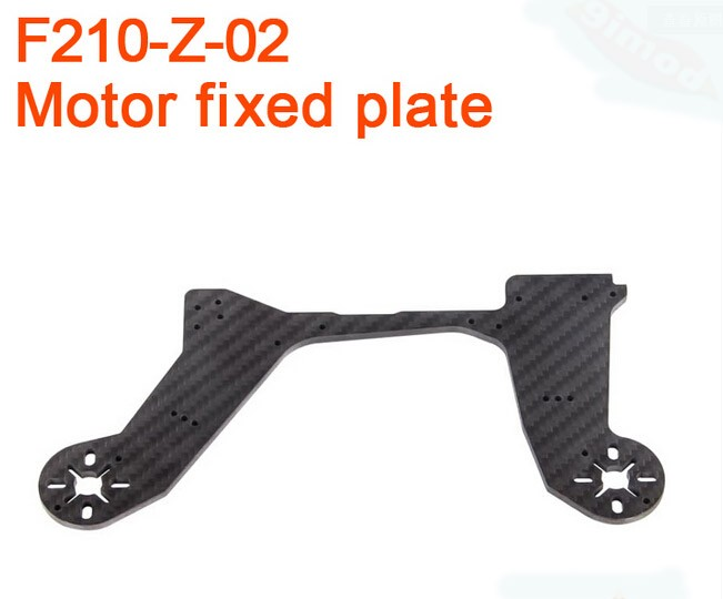 Walkera F210 RC Helicopter Quadcopter spare parts F210-Z-02 motor mounting plate Fixed Plate