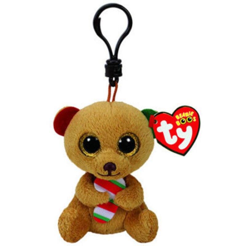 Ty Beanie Babies Боос Белла Рождество медведь Boo плюшевые чучело Коллекционная мягкие игрушки куклы с бирками сердце
