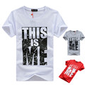 Plus Size S-5XL Brand Clothing Men T-shirt Swag T-Shirt Men Cotton Print Men T shirt Homme Fitness Camisetas Hip Hop t shirt Men