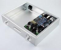 Wa48 모든 알루미늄 섀시 dac 앰프 케이스  듀얼 ak4495 앰프 보드 dac 디코더 소프트 컨트롤 보드 앰프 박스 사용