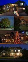 чужой дистанционный рождественский открытый РГ лазерный свет шоу проектор водостойкие огни для праздника рождественская елка украшения садовое освещение